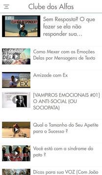 Clube dos Alfas apk screenshot