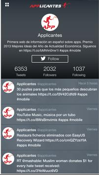 Applicantes: las mejores apps apk screenshot
