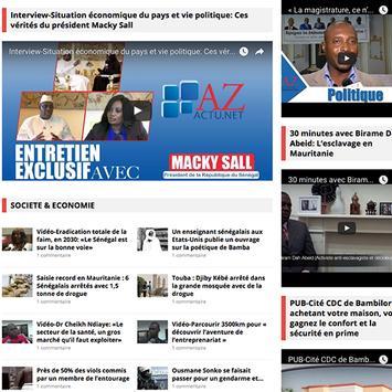 AZactu.net screenshot 4