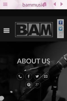 Bam Music poster