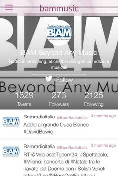 Bam Music apk screenshot
