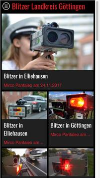 Blitzer Landkreis Göttingen screenshot 3