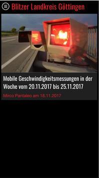 Blitzer Landkreis Göttingen screenshot 4