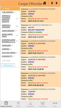 Buscargas apk screenshot