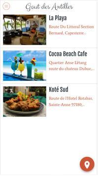 Gout des Antilles apk screenshot