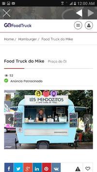 Go Food Truck - Guia de Food Trucks screenshot 7