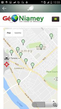 Géo Niamey apk screenshot