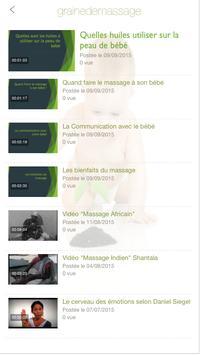 Graine de Massage screenshot 1