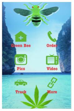 Green Bee Holistics poster