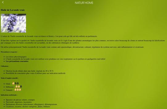 NATUR'HOME, l'application santé au naturel screenshot 17