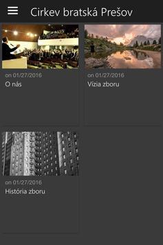 CB Prešov apk screenshot