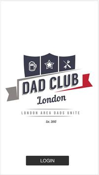 Dad Club London poster