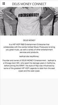 DEUS MONEY CONNECT screenshot 2
