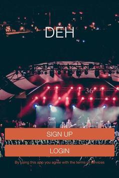 DEH App poster