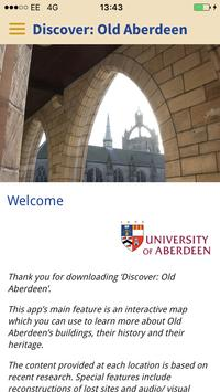 Discover: Old Aberdeen poster