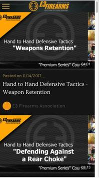 E3 Firearms Association App screenshot 3