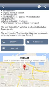 AMIDEAST Entrepreneur screenshot 3