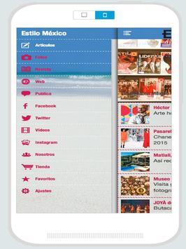 Estilo México screenshot 11