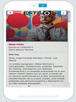 Estilo México screenshot 8