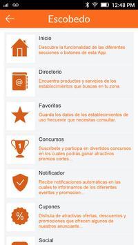 App Guía Escobedo poster