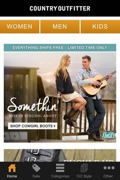 Shop Country Outfitter poster