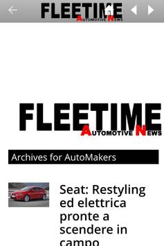 Fleetime | Automotive News apk screenshot