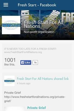 Fresh Start For All Nations تصوير الشاشة 5