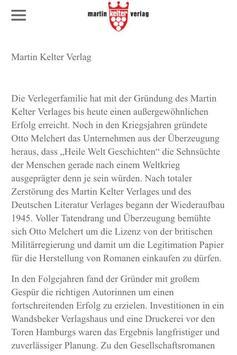 Kelter Verlag screenshot 2