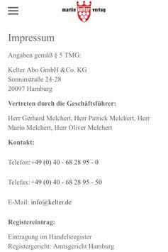 Kelter Verlag screenshot 3