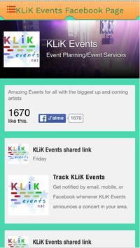 KLiK Events screenshot 3