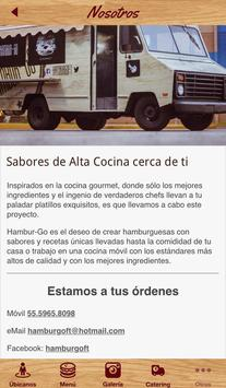 Hambur-Go. Food Truck screenshot 4