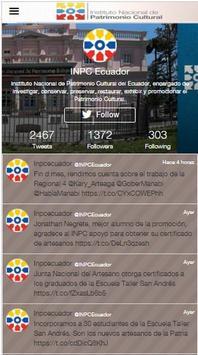 Patrimonio Ecuador apk screenshot