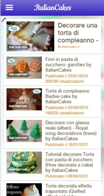 Torta Effetto Trapunta Tutorial.Italian Pastry And Cake Design For Android Apk Download