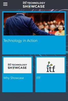 ITF Technology Showcase poster
