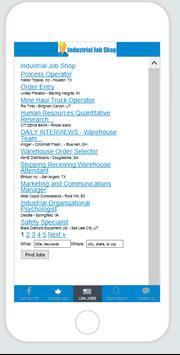 Industrial Job Shop apk screenshot