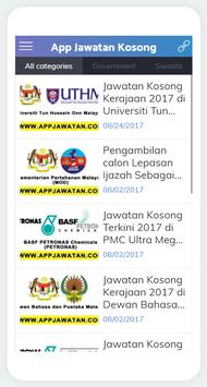 AppJawatan poster