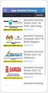 AppJawatan apk screenshot