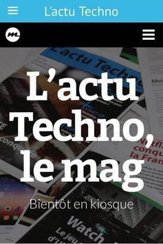L'actu Techno apk screenshot