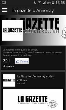 La Gazette d'Annonay poster