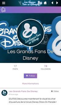 Les Grands Fans De Disney screenshot 1