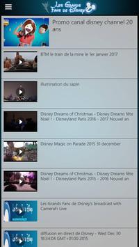 Les Grands Fans De Disney screenshot 4