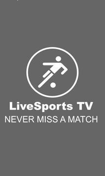 LiveSports TV apk screenshot