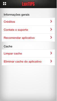 LuxTIPS apk screenshot