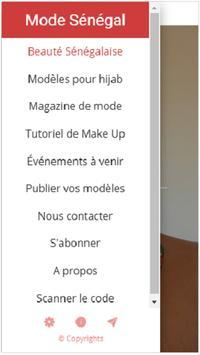Mode Sénégal poster