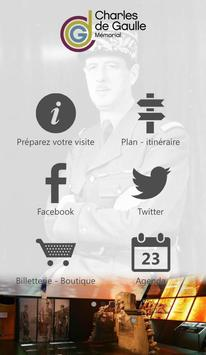 Mémorial Charles de Gaulle poster