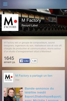 M Factory poster