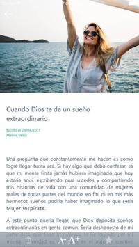 Mujer Inspírate screenshot 1