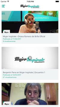Mujer Inspírate screenshot 3