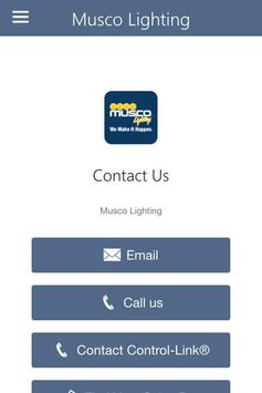 Musco Lighting Control-Link® apk screenshot