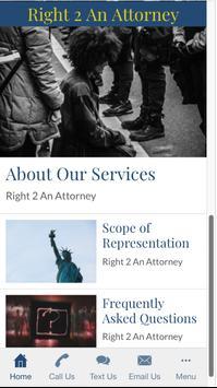 Right 2 An Attorney apk screenshot